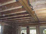 Structural Damage Repairs to Beam in House Ceiling