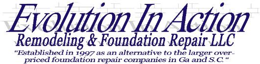 Evolution In Action Crawl Space Foundation Repair Atlanta, Charleston, Savannah, Ga & SC