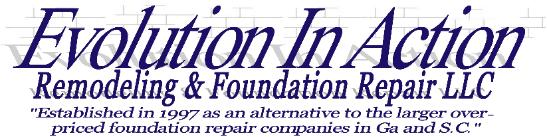 Evolution In Action Crawl Space Foundation Repair Ga & SC